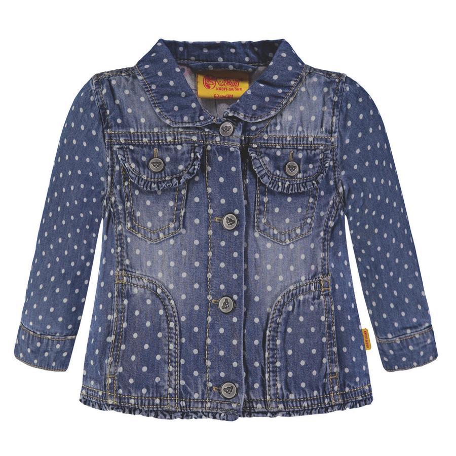 Steiff Girl giacca in denim s con puntini