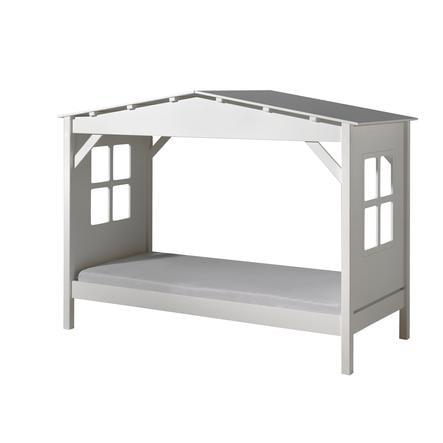 VIPACK postel domeček Pino bílá