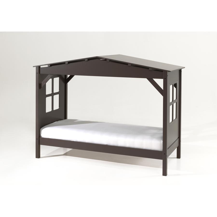 VIPACK postel domeček Pino taupe