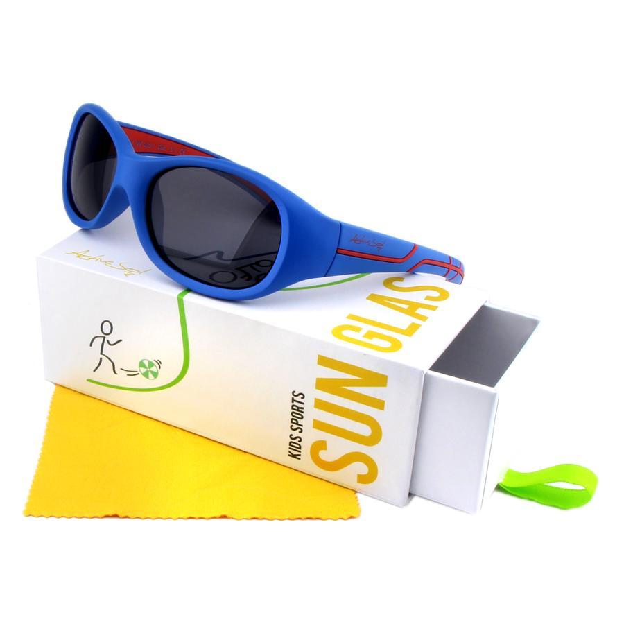 ActiveSol Kids Sport Sonnenbrille blau-rot