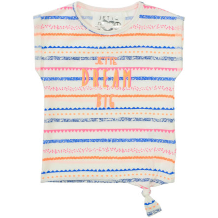 JETTE by STACCATO Girl rayures T-Shirt blanc cassé