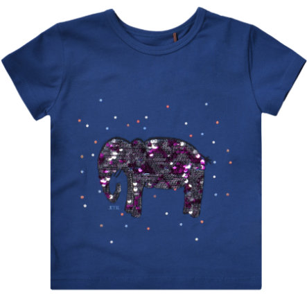 JETTE by STACCATO Girls T-Shirt Elefant blau