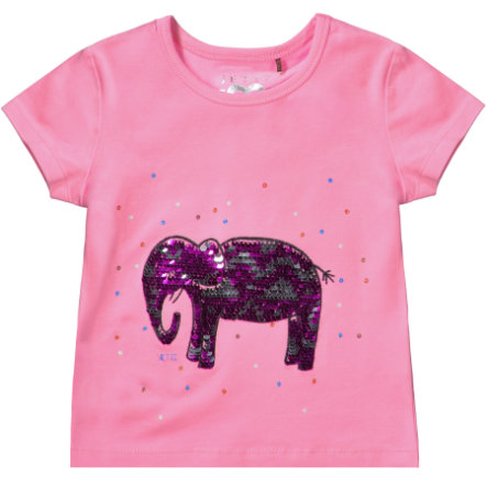 JETTE by STACCATO Girls Langarmshirt Elefant pink