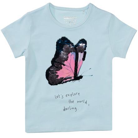 STACCATO Girl s T-Shirt pastelowy błękit