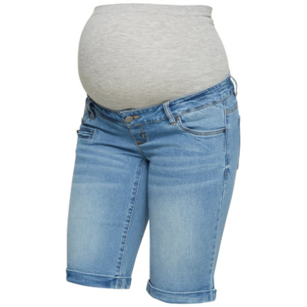 Mama Licious Shorts MLFRIDAY Light Blue Denim