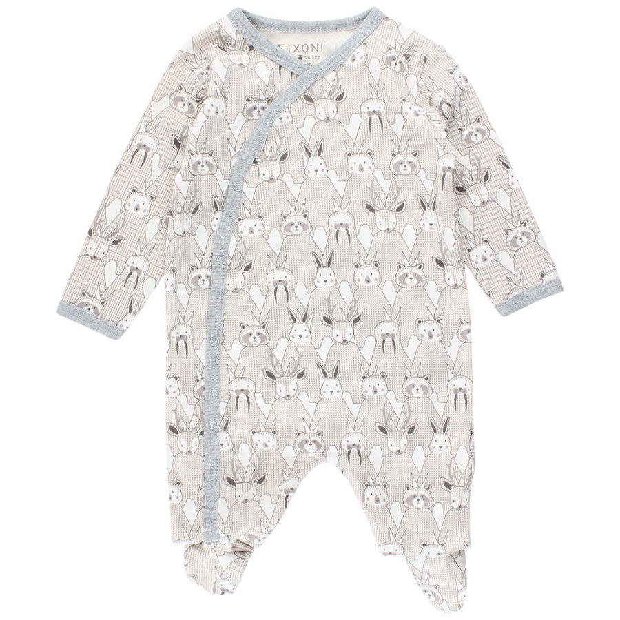 FIXONI Baby Schlafoverall off white
