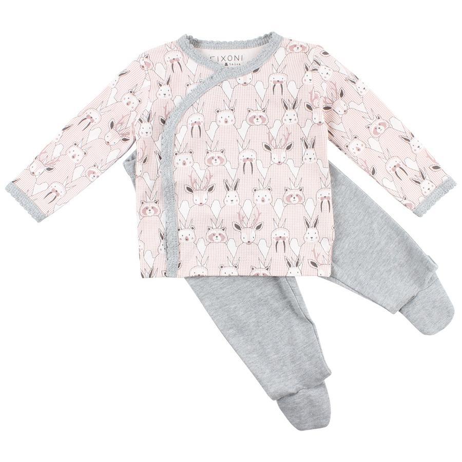 FIXONI Baby Schlafanzug pearl