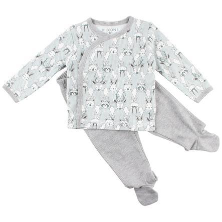 FIXONI Baby Schlafanzug illusion blue