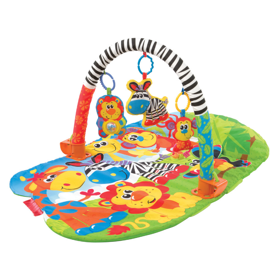 playgro 5 in 1 Speeldeken Activity Safari