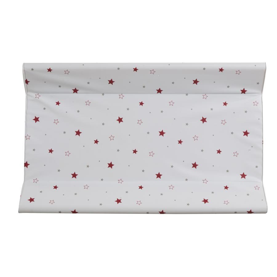 Balicí podložka Schardt Wedge 50 x 80 cm hvězdice červená