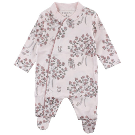 FIXONI Baby Schlafoverall soft rose tree
