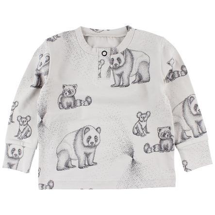 FIXONI Camiseta larga blanco marfil