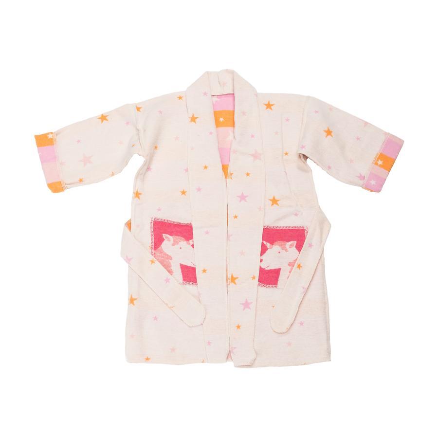 DAVID FUSSENEGGER Kimono enfant licorne rose