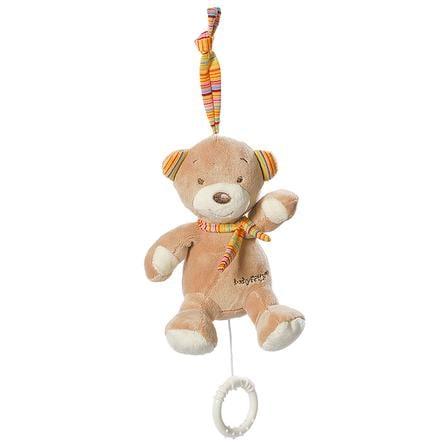 Babysun Peluche musicale mini ourson - Rainbow