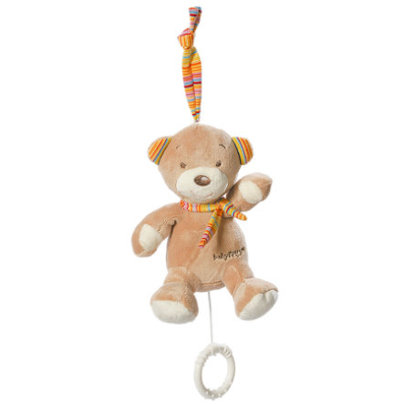 fehn® Mini-Spieluhr Teddy - Rainbow