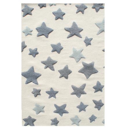 LIVONE Alfombras de juego y Happy alfombras para niños Sea star,  natural/gris, 120 x 180 cm