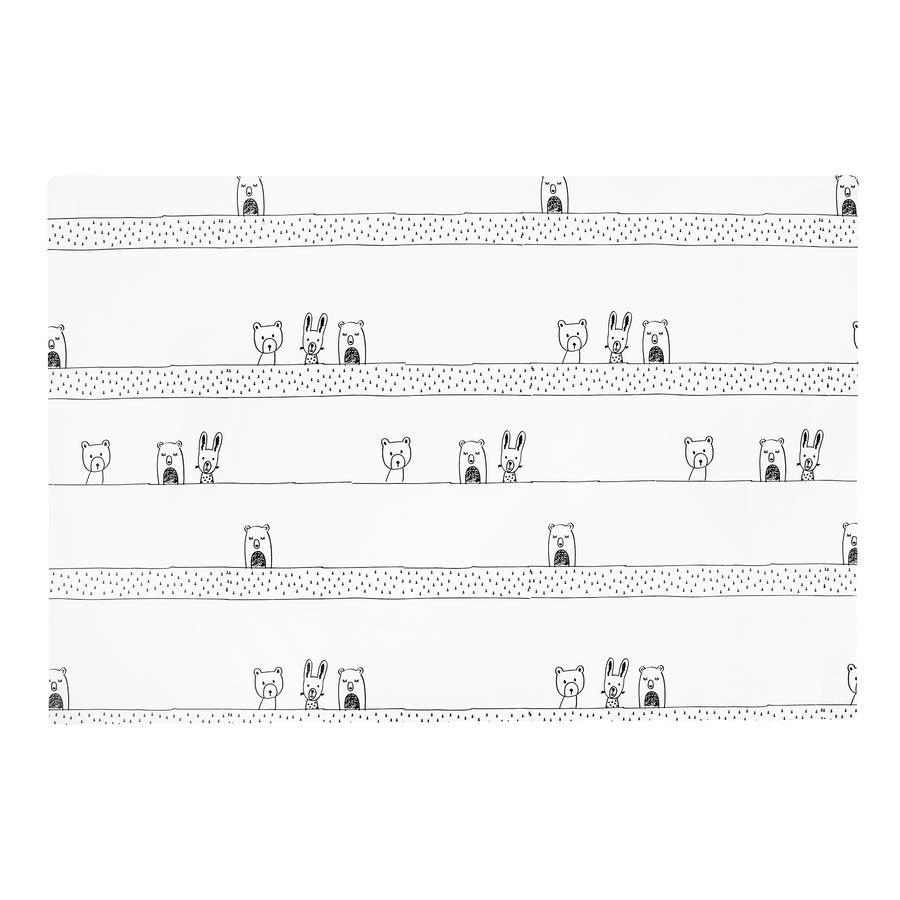JULIUS ZÖLLNER Wickelauflage flach Folie Grobies 60 x 90 x 4 cm