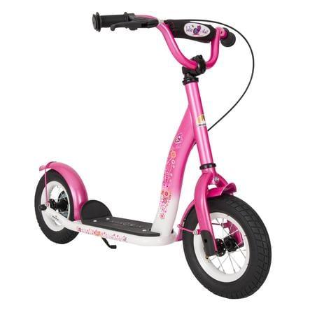 """""""bikestar barnescooter 10 """"""""Klassisk, rosa / hvit"""""""