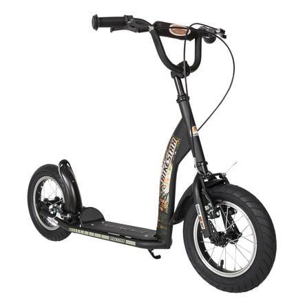 "bikestar Premium Kinderroller 12"" Schwarz matt"