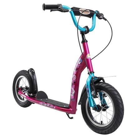 "bikestar Premium Kinderroller 12"" Bezaubernd Berry"