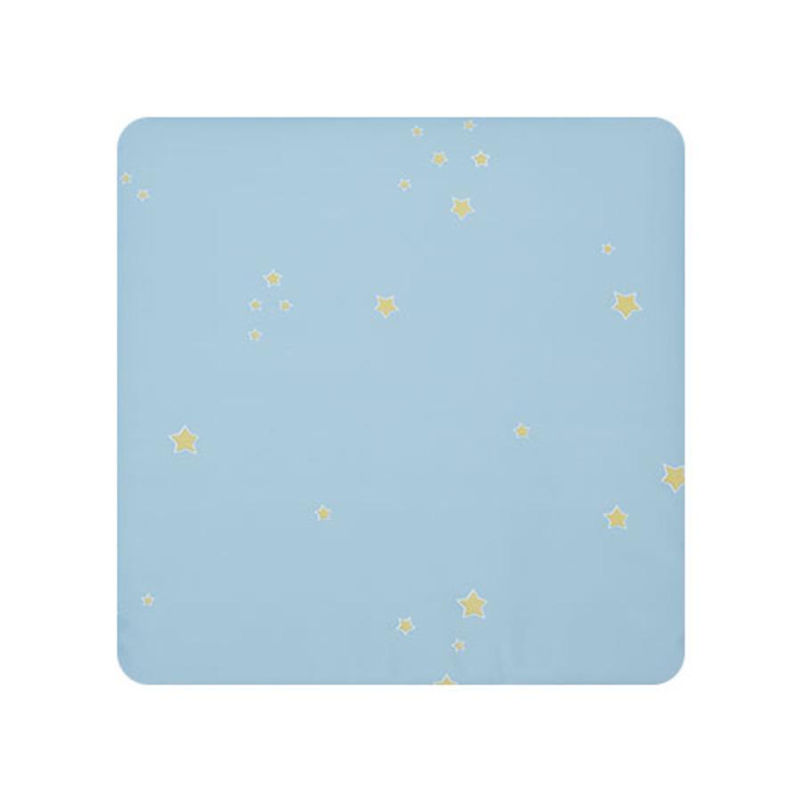 Alvi Wickelauflage Wiko Molly Folie Sternchen blau 75 x 85 cm