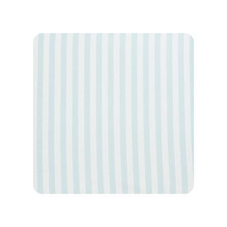 Alvi Cambiador lámina de plástico rayas azules 75 x 85 cm