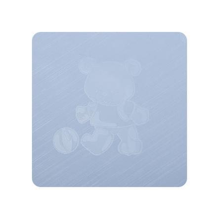 Alvi Mata do przewijania Kuschel Folie Teddy blue 75 x 85 cm