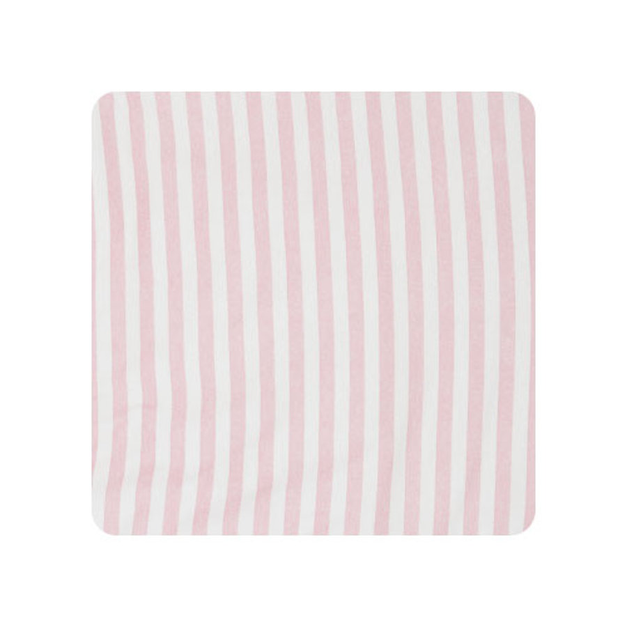 Alvi Kleedmat rosa Kuschelfolieblokstrook 69 x 69 cm Kuschelfolie 69 x 69 cm