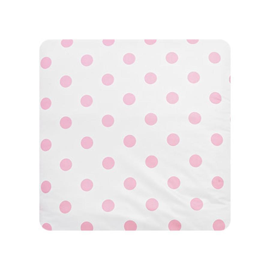 Alvi Wickelauflage Kuschel Folie Schlafmütze rosa 69 x 69 cm