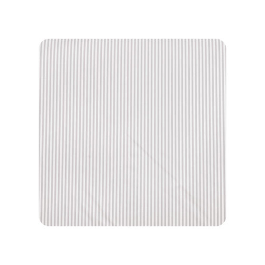 Alvi Wickelauflage 2er Keil Streifen grau 68 x 60 cm