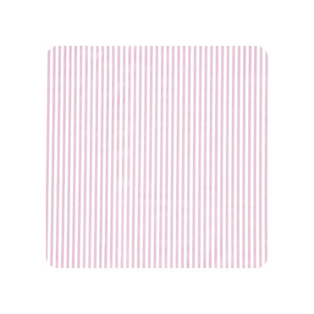 Alvi Wickelauflage 2er Keil Streifen rosa 68 x 60 cm