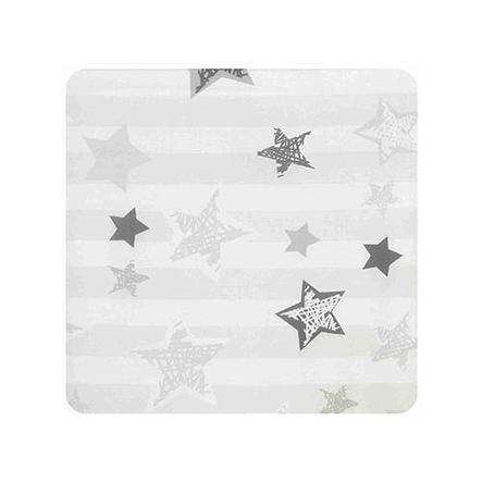 Alvi Wickelauflage 2er Keil Silver Stars 68 x 60 cm