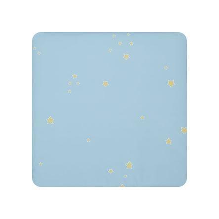 Alvi Wickelauflage Molly klein Sternchen blau 70x53 cm