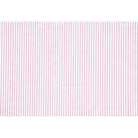Alvi Matelas à langer Molly rayures roses 70 x 53 cm