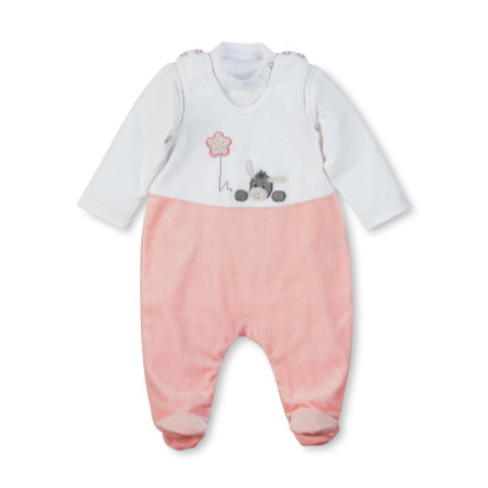 Sterntaler Rompler-Set Nicki Emmi Girl blanco