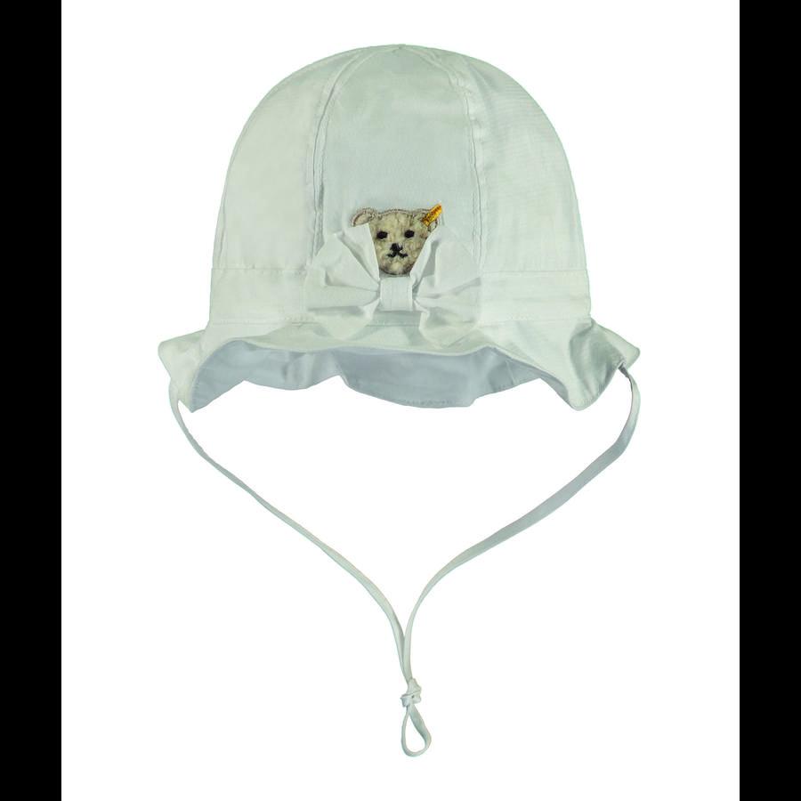 Steiff Girls Sombrero, blanco