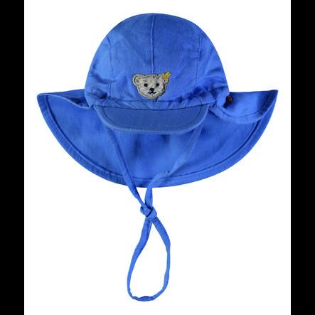 Steiff Boys Mütze mit Schirm, blau
