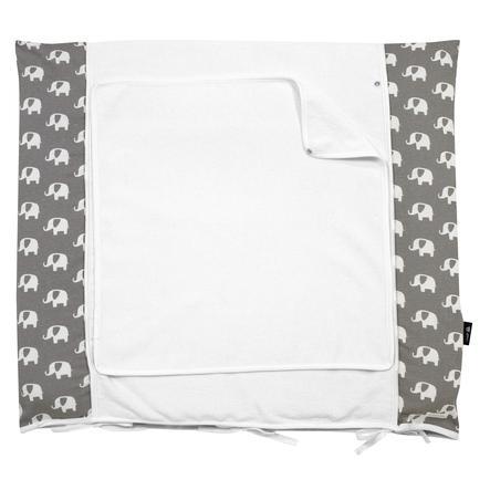 Alvi Skötbäddsöverdrag  Special Edition Elefant grå 70x85 cm