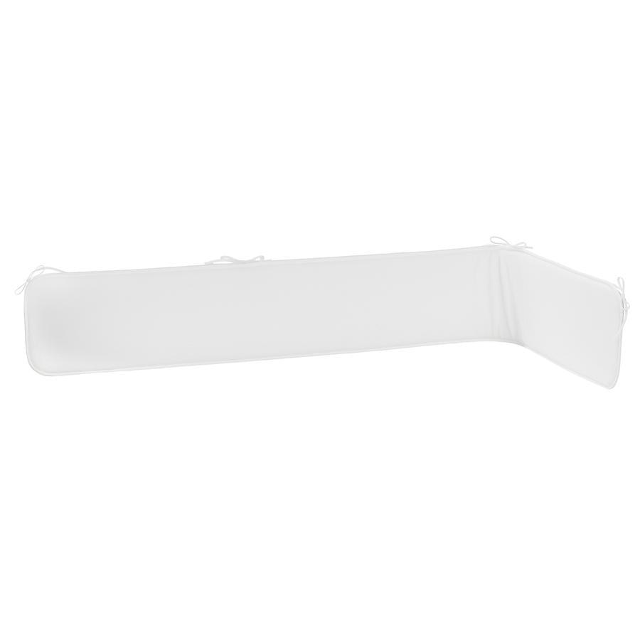 Alvi Tour de lit éponge blanc 180 cm