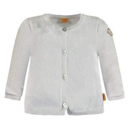 Steiff Girls Strickjacke, weiß