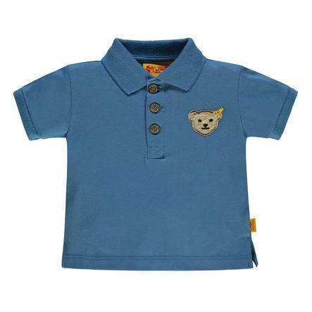 Steiff Boys Poloshirt, blau
