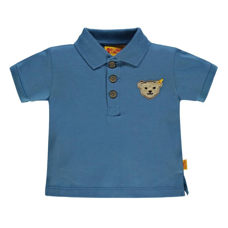 Steiff Boys Poloshirt, blauw