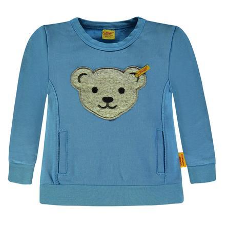 Steiff Boys Bluza bluza, niebieska.