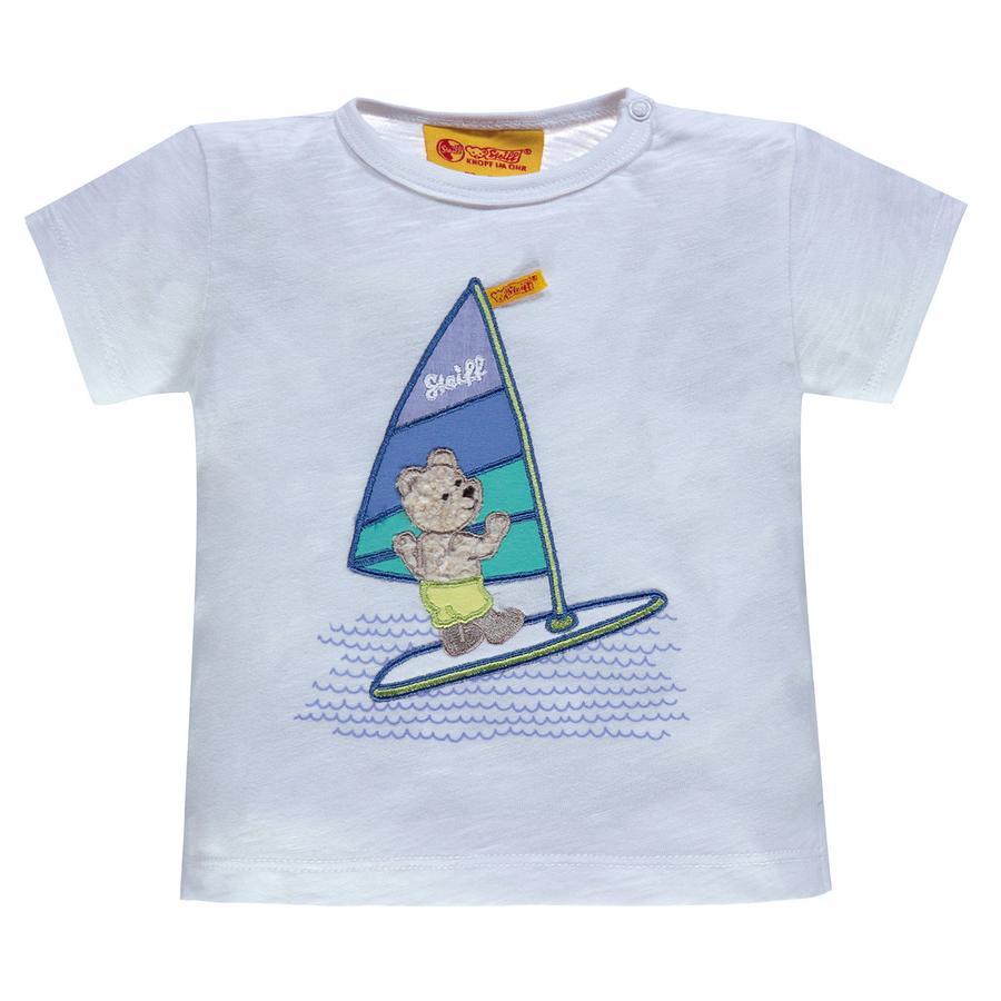 Steiff Boys T-Shirt, weiß