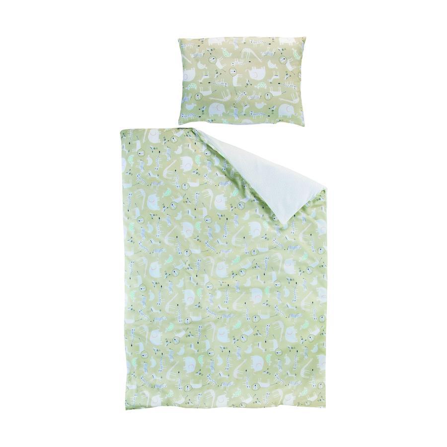 Schardt Biancheria da letto reversibile 2 pezzi 100 x 135 cm Tattoo beige