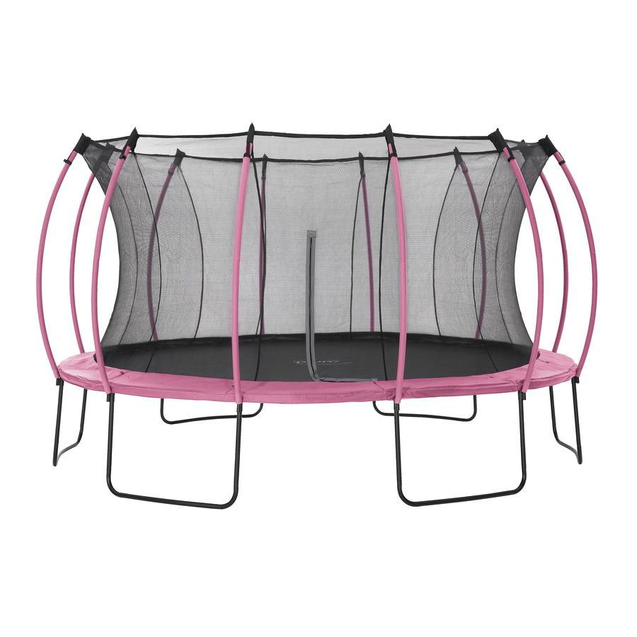 plum  ® Colour s Springsafe ® Trampolina z siatką zabezpieczającą Flamingo Pink, 426 cm