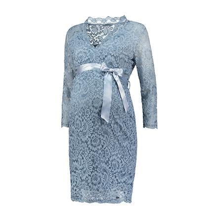 LOVE2WAIT Robe de maternité dentelle bleu