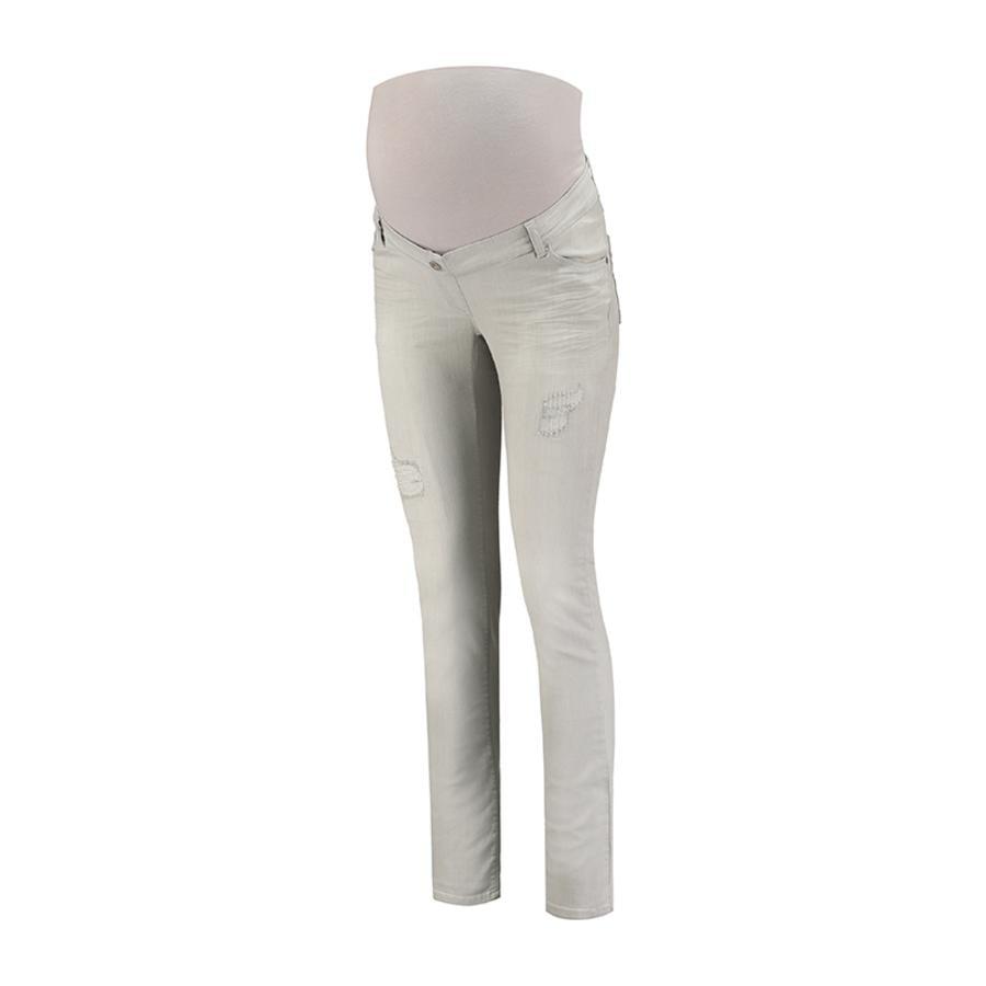 LOVE2WAIT Jeans de maternité Sophia Grey Détruit