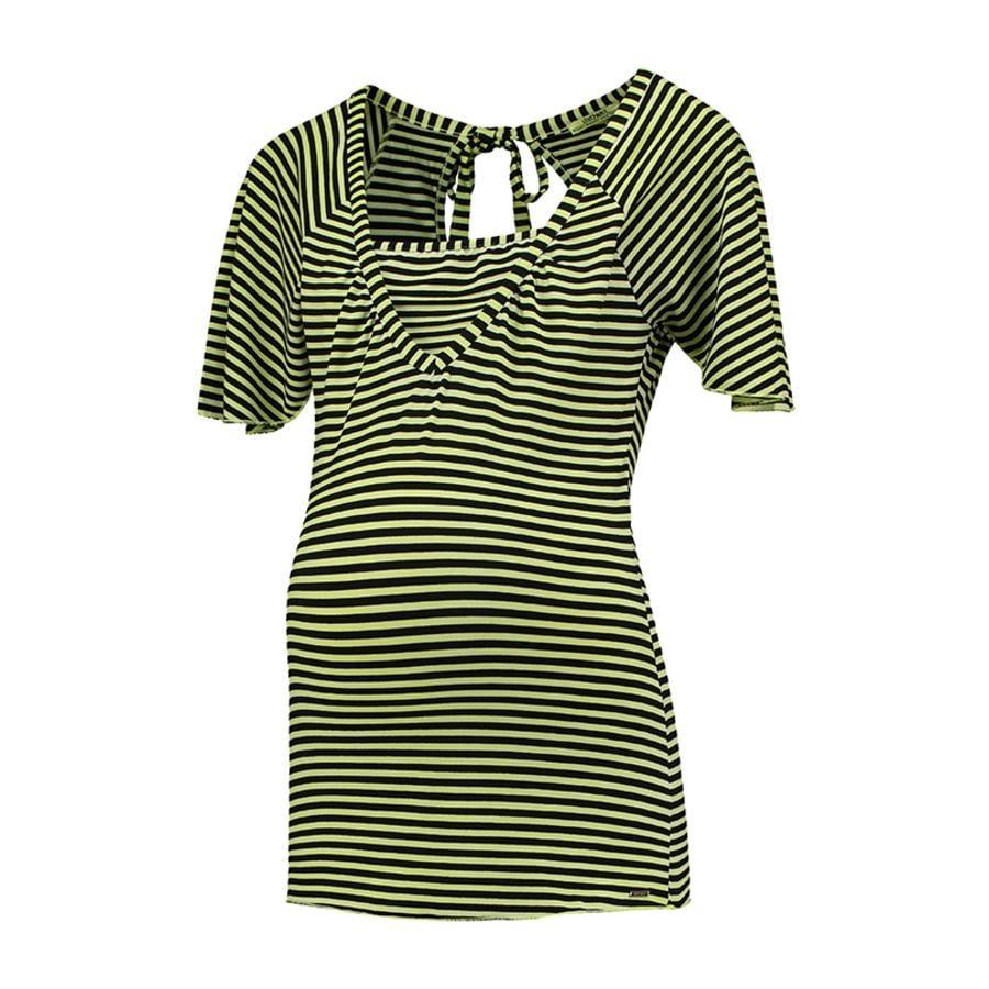 LOVE2WAIT Stillshirt Striped Lime