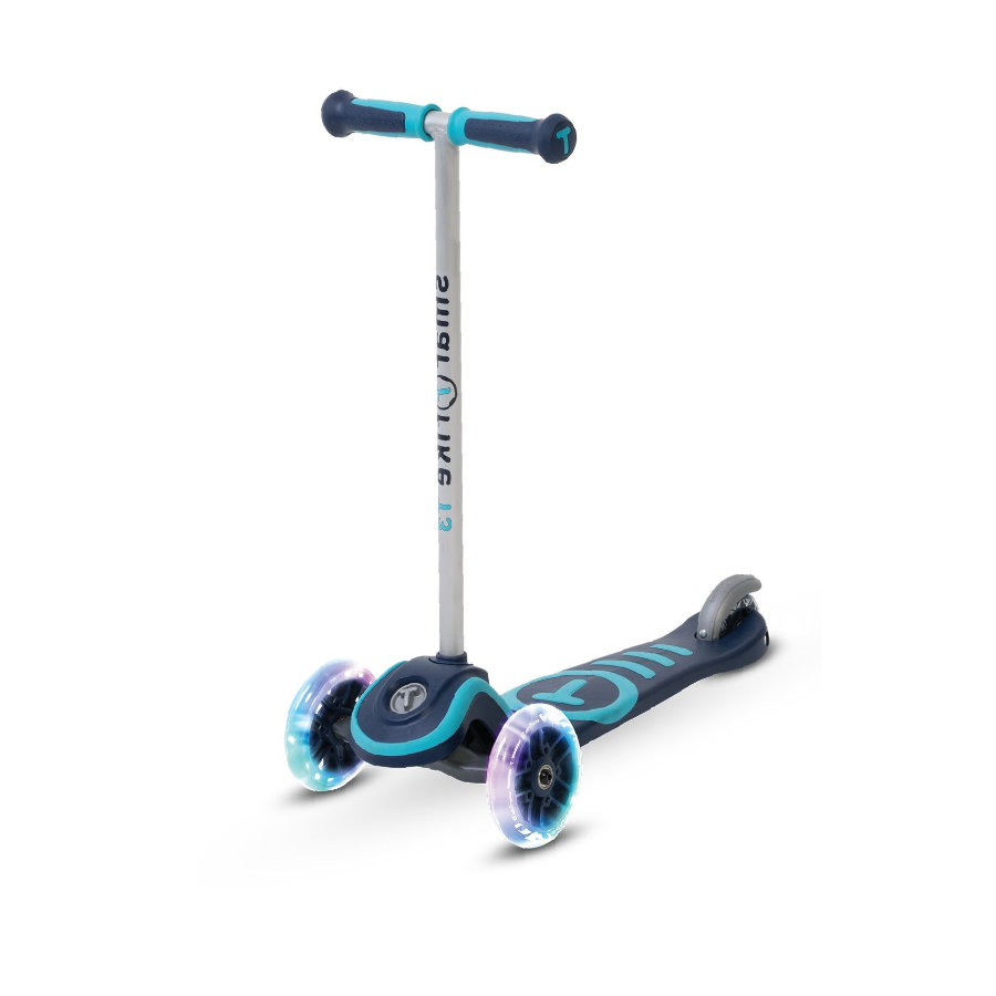 smarTrike® Patinete Scooter T3, negro/azul